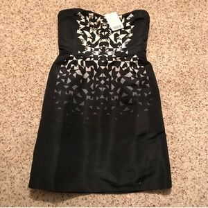 NWT silence and noise UO studded strapless dress